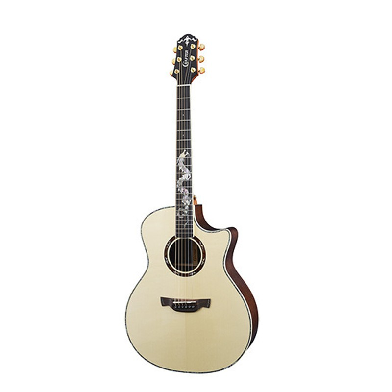 Crafter DG-ROSE PLUS 木吉他 含原廠琴盒 【宛伶樂器】