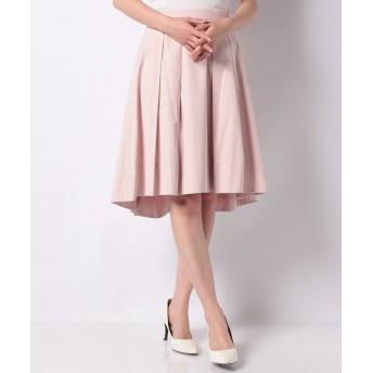 (SHIPS WOMEN/シップス ウィメン)WDO:20-0264TAFFTA TUCK スカート/レディース ピンク