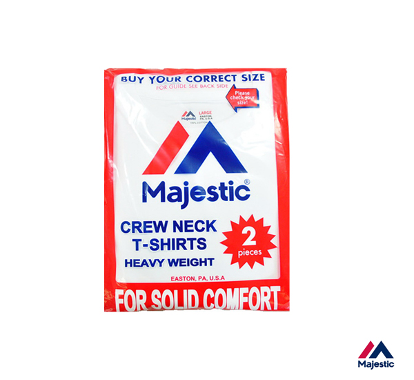Majestic Heavy Weight 2Pack 日本線重磅圓領圓筒上衣組(2入)/兩色