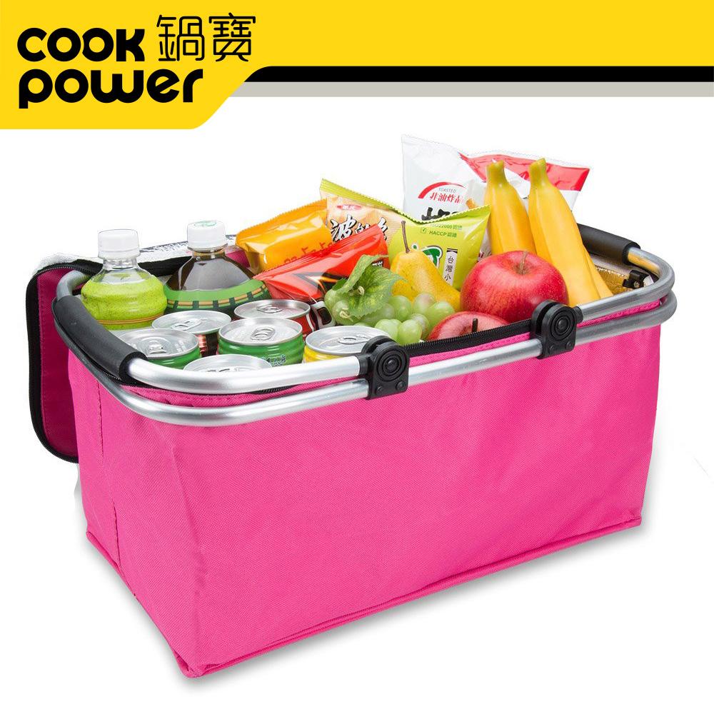 【鍋寶】折疊式保溫野餐提籃 PB-0615