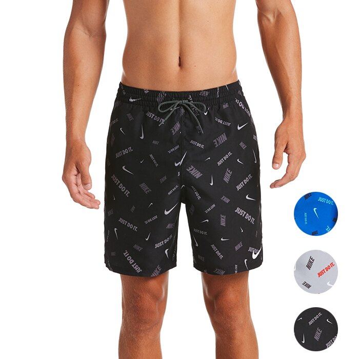 NIKE Logofetti Breaker 成人男性7吋海灘褲 運動短褲 DRI-FIT NESSA473