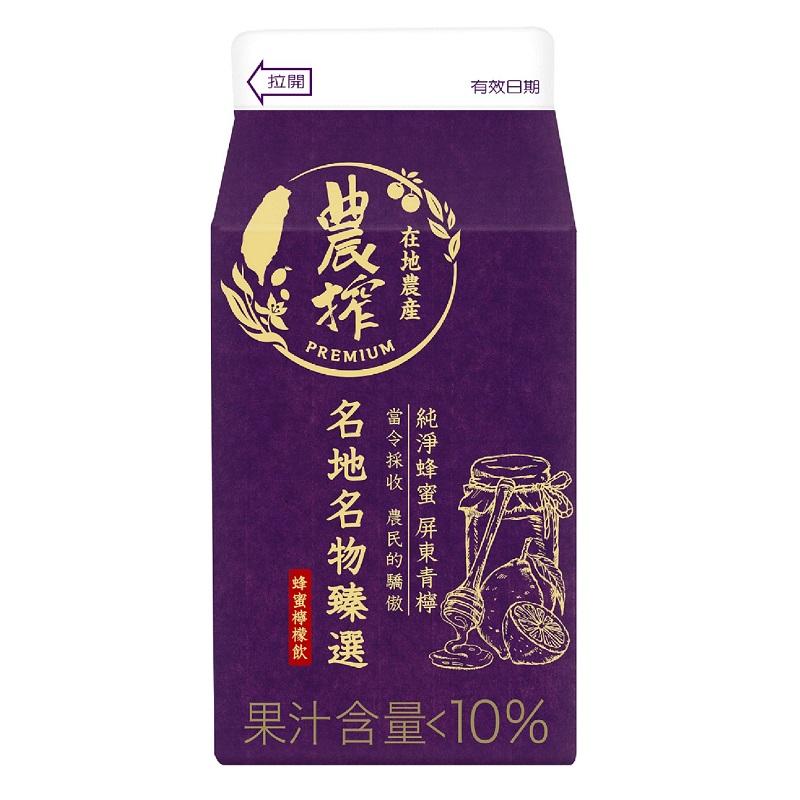 農搾蜂蜜檸檬飲375ml到貨效期約6-8天