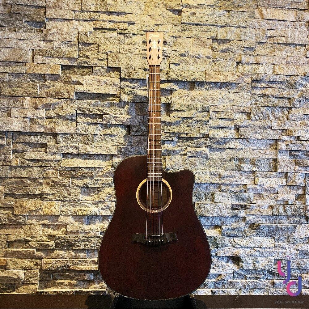 現貨免運 贈千元配件 美國品牌 Johnson JG-DCV 面單板 民謠 木 吉他 D桶身 復古 漸層色