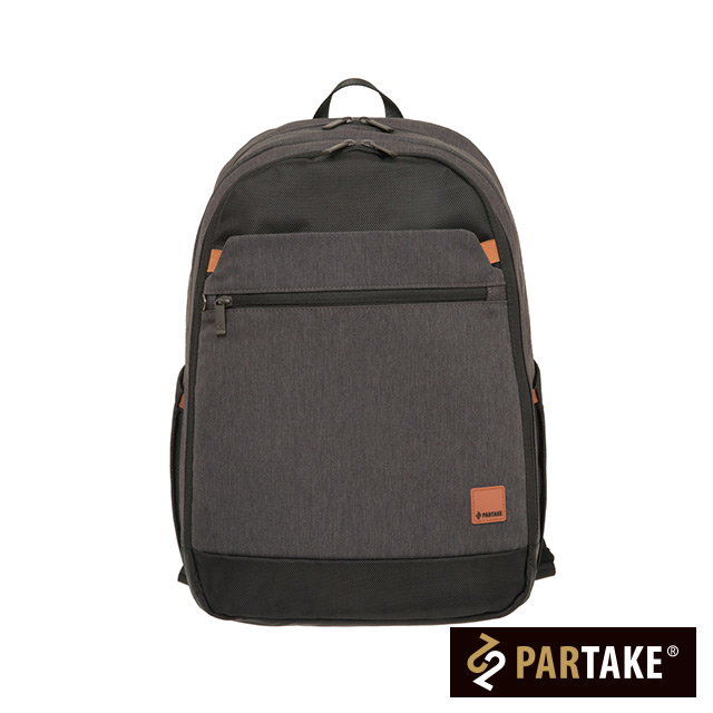 【PARTAKE】D2-15.6吋電腦後背包-灰色 PT19-D2-81GY