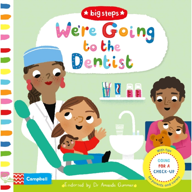 We're Going to the Dentist: Going for a check-up【禮筑外文書店】