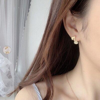 50%OFF SHOP音符個性迷你耳環【005689BHBE】