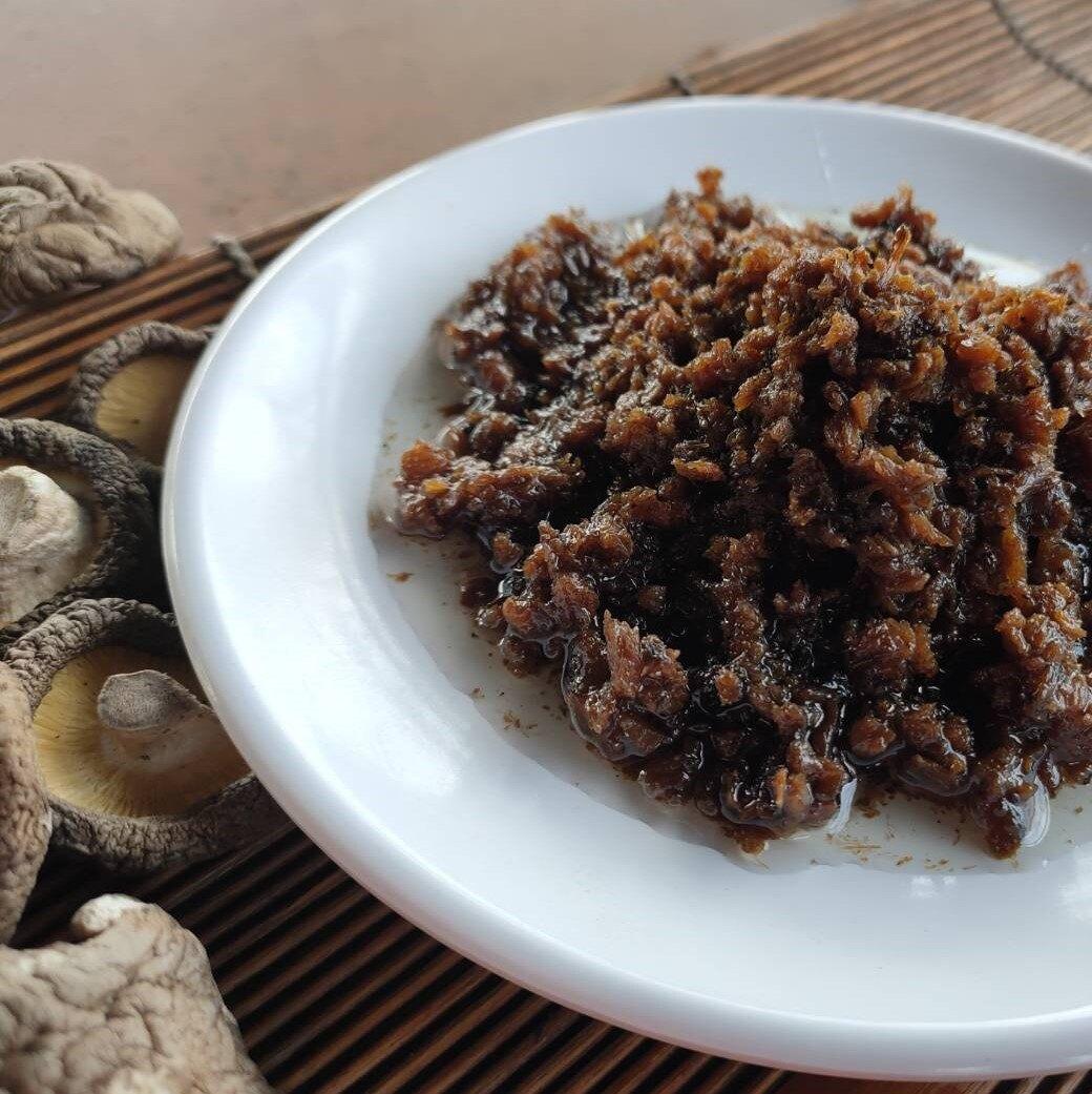 菇菇熊 全素 香菇拌醬 380g/罐 辣椒醬 拌飯 拌麵 罐頭