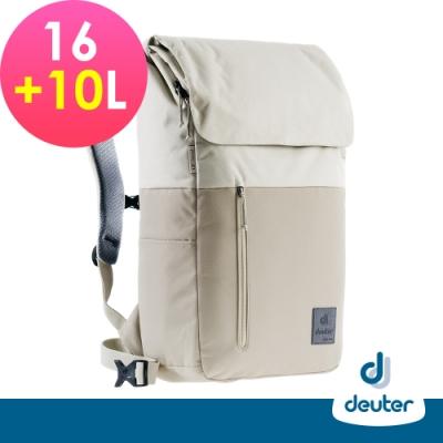 【deuter德國】UP SERIES SEOUL首爾都市環保背包16+10L/3860221米白/商務旅遊包/文青包