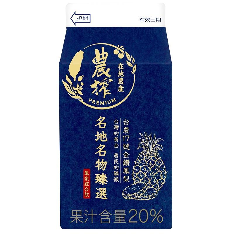 農搾鳳梨綜合飲375ml到貨效期約6-8天