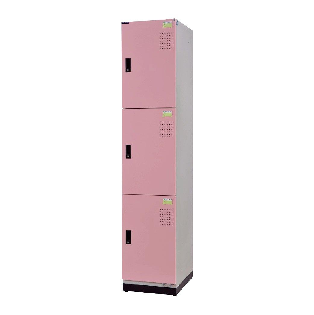 DAHFU大富 KH-393-4503TE 全鋼製 粉紅色新型多用途收納置物櫃