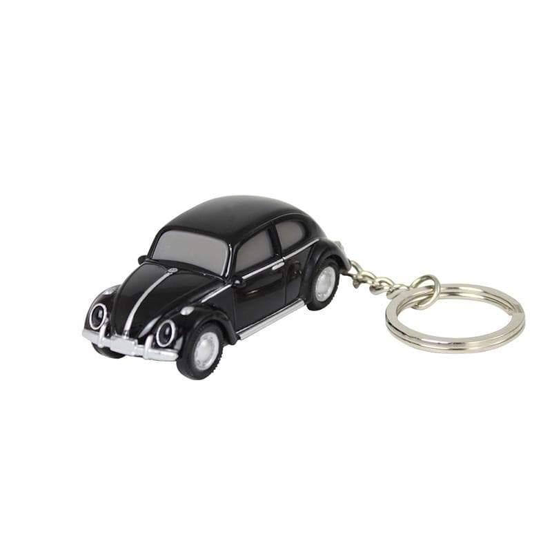 VW福斯授權LED金龜車鑰匙圈 黑 單一選項