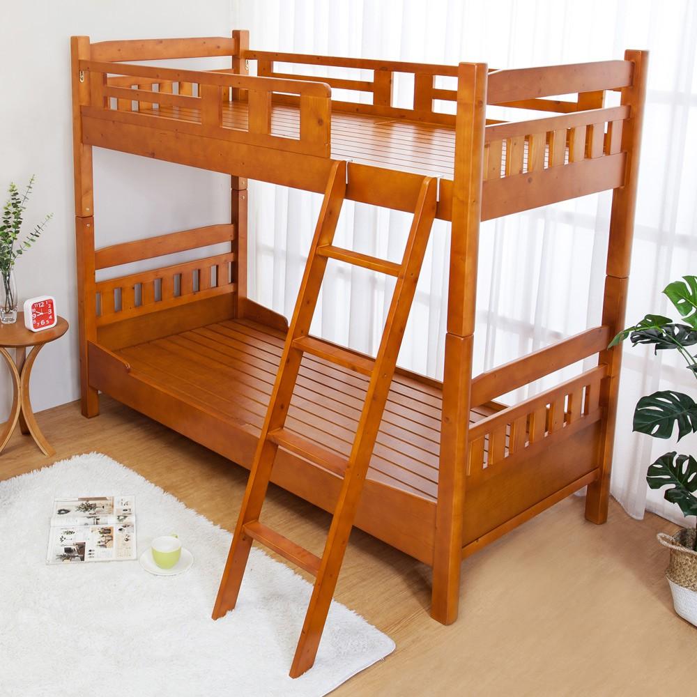 Boden-帕斯3尺單人實木雙層床架