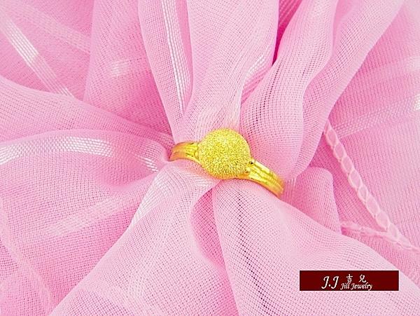 9999純金 黃金 戒指 鑽紗金球 金飾 男女戒指 尾戒情人禮物 生日 送禮 推薦