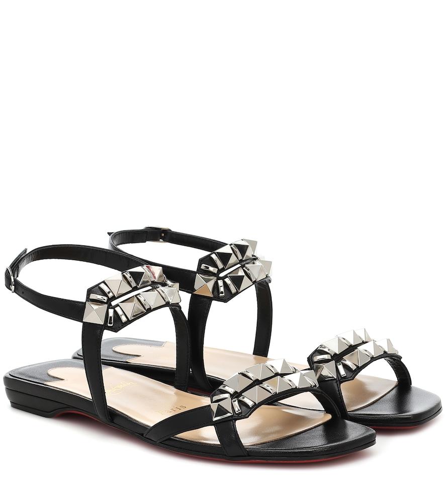 Galerietta embellished leather sandals