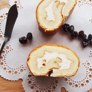 樂米工坊.預購 瑞士捲米蛋糕 楓糖葡萄(462g/條,共兩條)