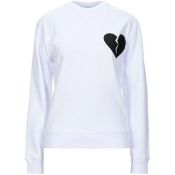 《セール開催中》MSGM レディース スウェットシャツ ホワイト XS コットン 100% / ポリエステル