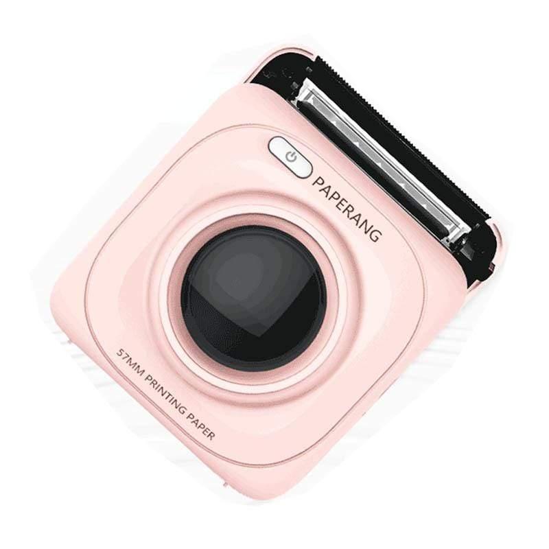 口袋列印小精靈-喵喵機(粉色)+感熱紙大組合包