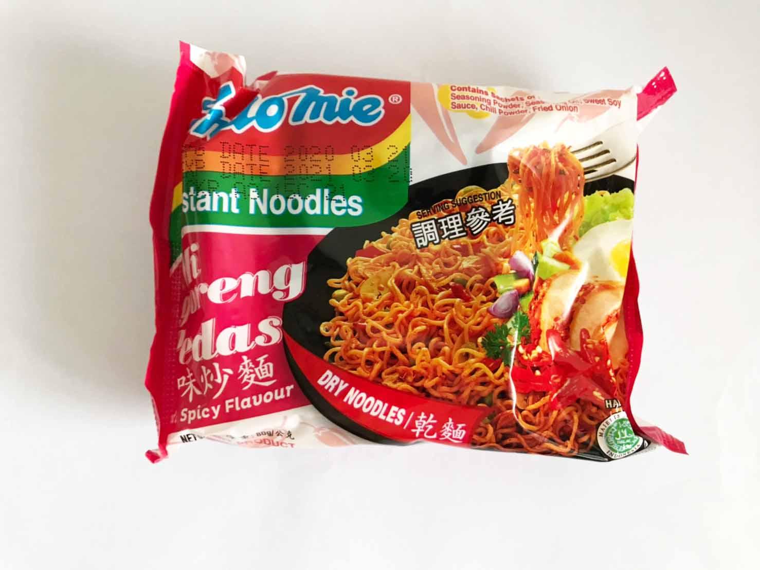 泰國 泰國進口 MAMA麵 媽媽麵 泡麵 小泡麵 泡麵 辣味炒麵 80G
