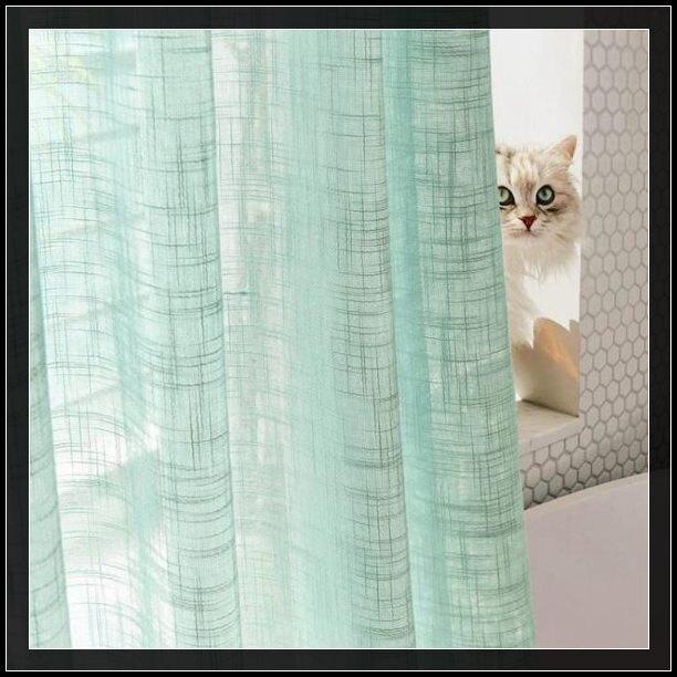 窗紗 窗簾成品紗簾隔斷透光不透人棉麻亞麻陽臺窗紗客廳臥室半遮光北歐
