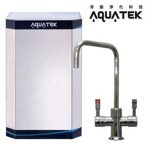 【AQUATEK】煮沸型櫥下式溫熱飲水機(AF-AQ3122A)白色