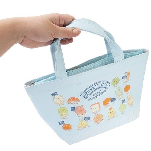 角落生物Sumikko Gurashi 2Way保冷手提便當袋,保冷袋/購物袋/雜物袋/便當袋/保溫袋/保鮮餐袋/食物袋,X射線【C115068】
