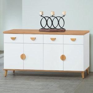【MUNA 家居】貝格5.3尺餐櫃/碗盤櫃(下座)