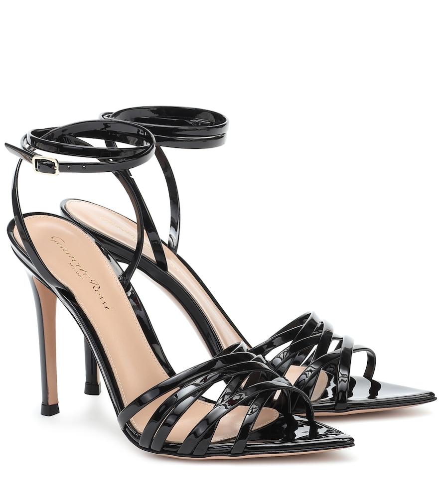 Lita 105 patent-leather sandals