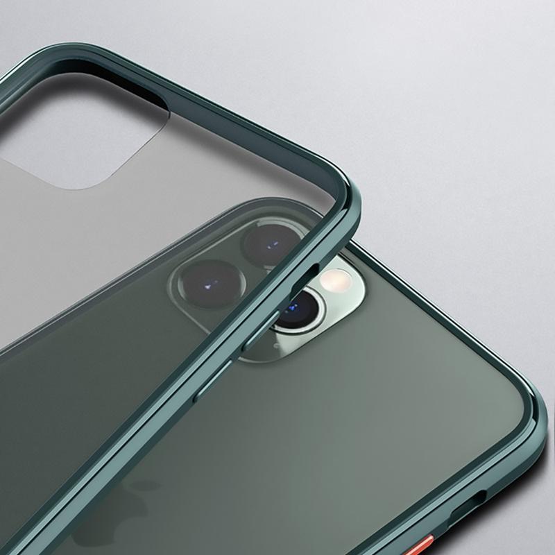 晶剛系列iPhone11 Pro/Pro Max超薄款耐摔保護殼AA092 iPhone 11 Pro max(殼)-黑黃