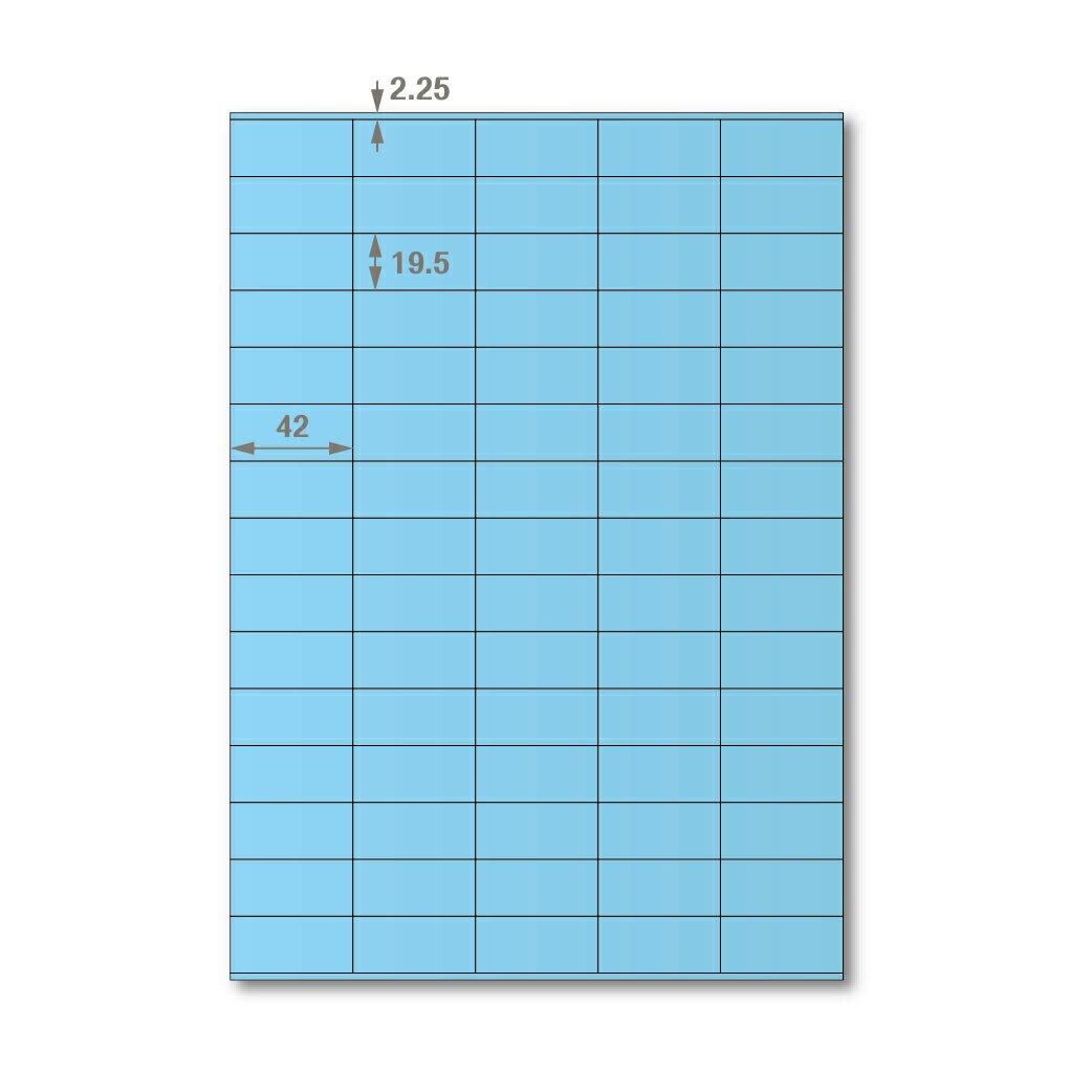 【萬用標籤貼】龍德高品質SGS檢驗合格三用電腦標籤貼紙(淺藍一箱裝)LD-8111-B-B 可出貨用貼紙 影印 雷射 噴墨