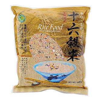綠源寶   I  十六穀米(珍穀雜糧米)(袋裝)  I  1800公克(袋)