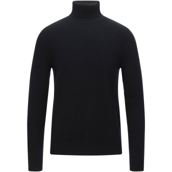 《セール開催中》JEORDIE'S メンズ タートルネック ブラック 3XL カシミヤ 100%