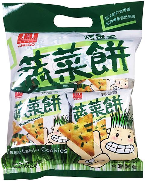安堡.蔬菜餅200g(植物五辛素)