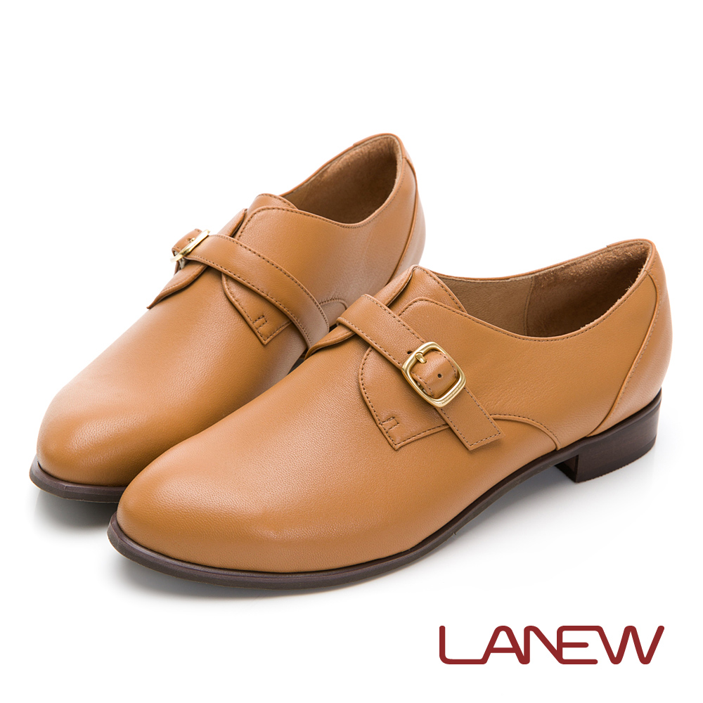 LA NEW 知性簡約 羊皮淑女鞋(女226043700)