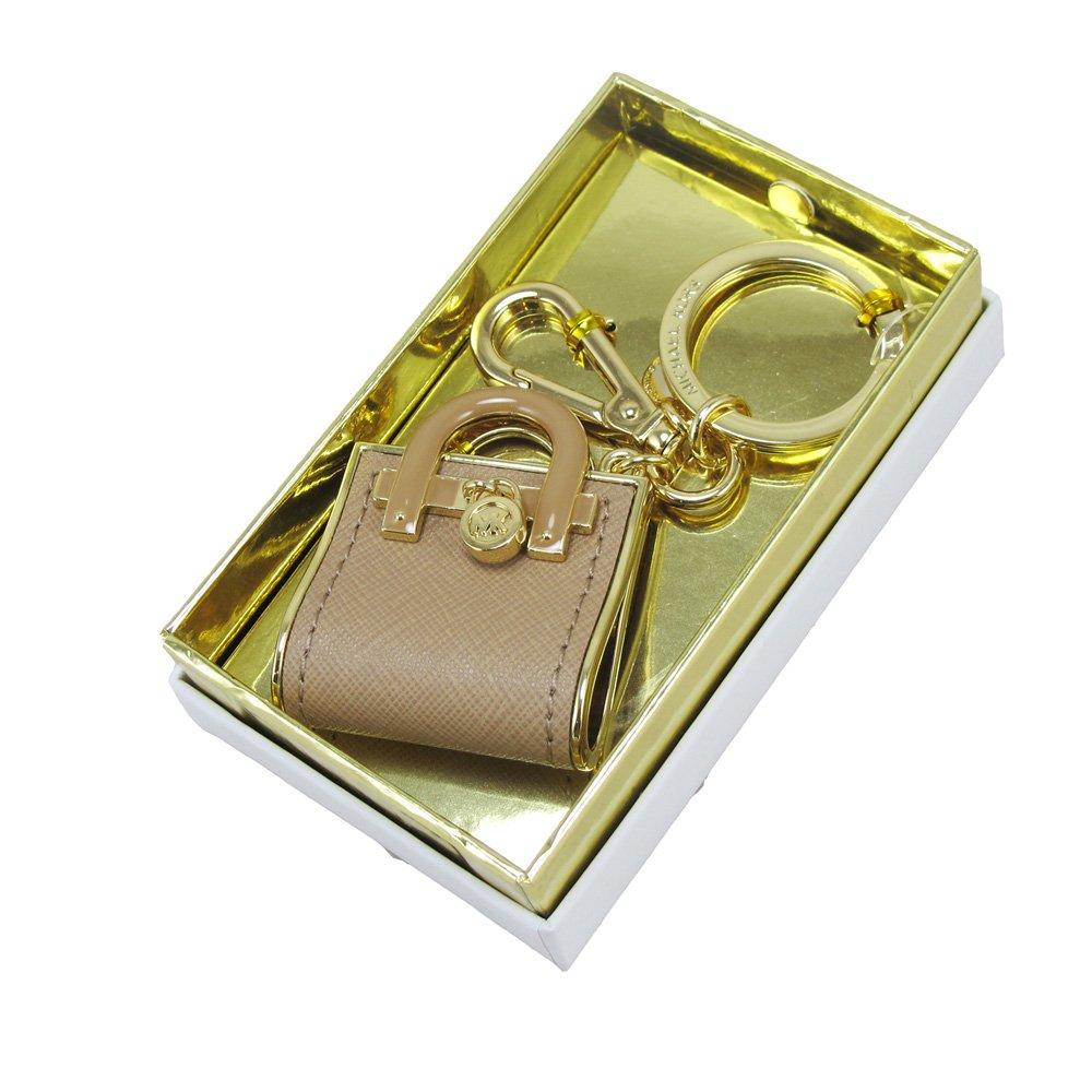 MICHAEL KORS時尚迷你包鑰匙圈吊飾(深粉)