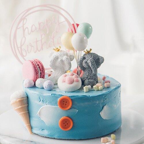 熊熊夢遊歷險  8吋【PATIO帕堤歐】造型蛋糕/生日蛋糕/卡通蛋糕