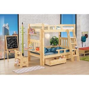 童趣松木功能雙層床(全組)(不含床墊)