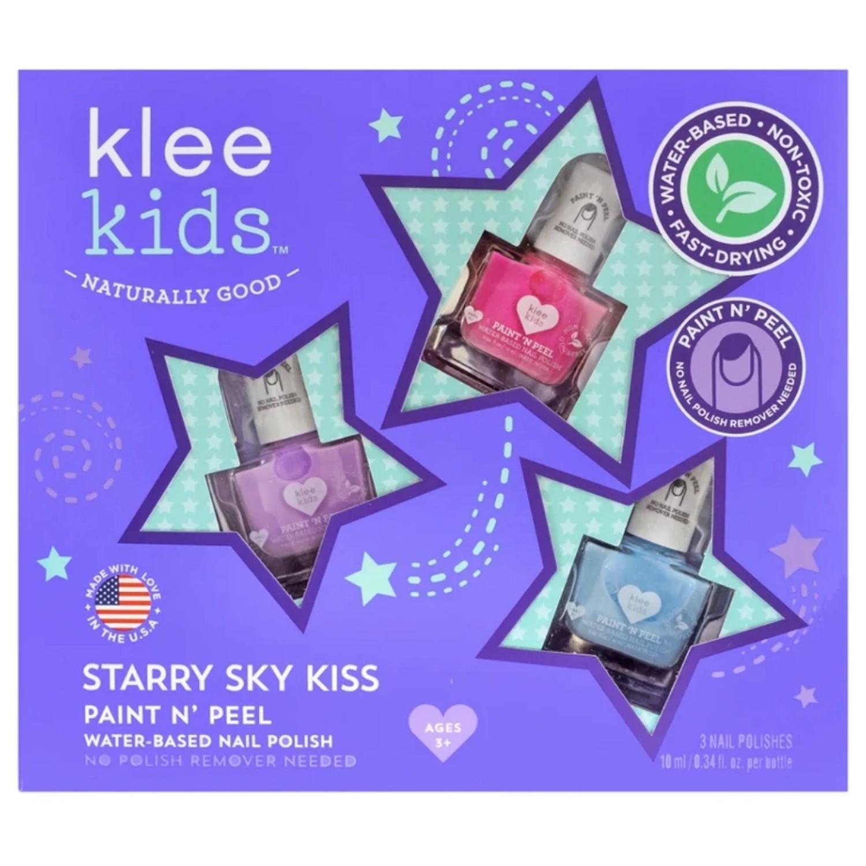 美國 Luna Star - 閃亮星空指彩組-10ml X 3-甜心粉紅/薰衣草紫/天使藍