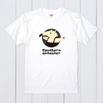ミナミ コアリクイ 白 Tシャツ 英語 カラー