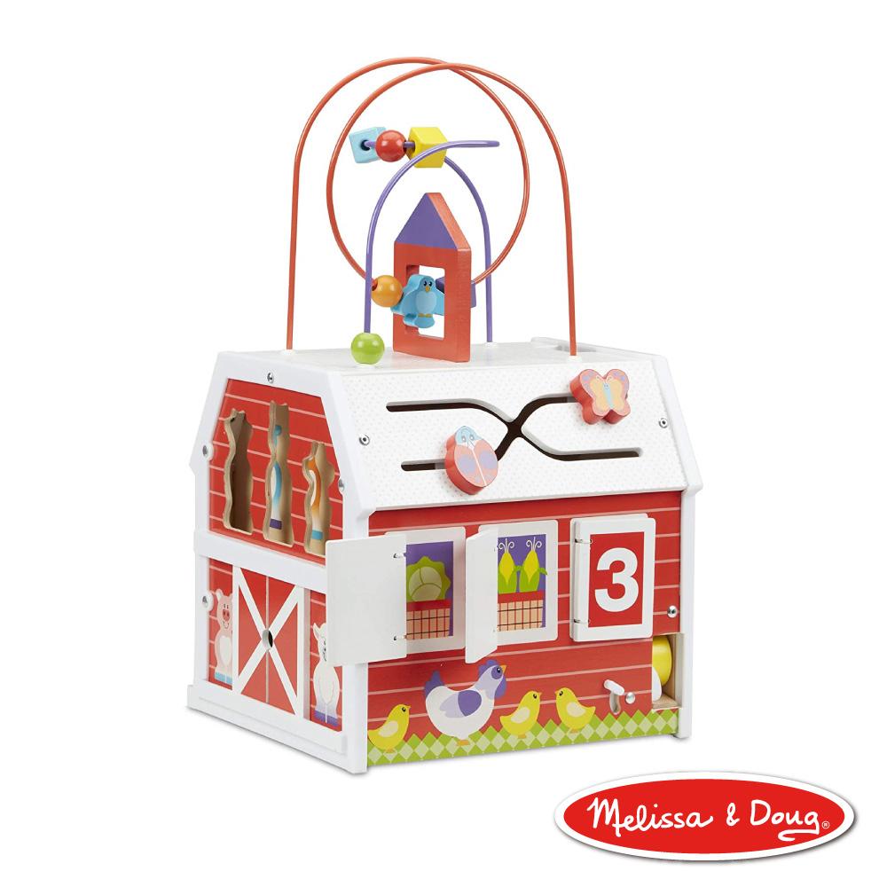 美國瑪莉莎 Melissa & Doug First Play 多功能益智玩具屋