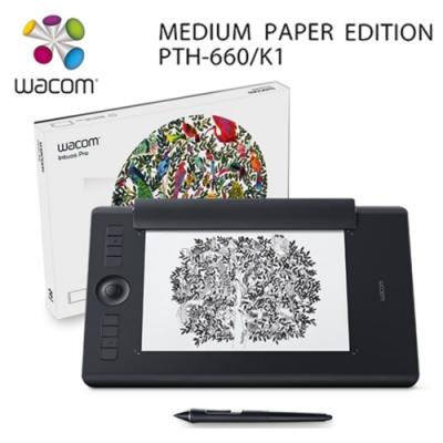 Wacom Intuos Pro medium Paper Edition雙功能專業繪圖板