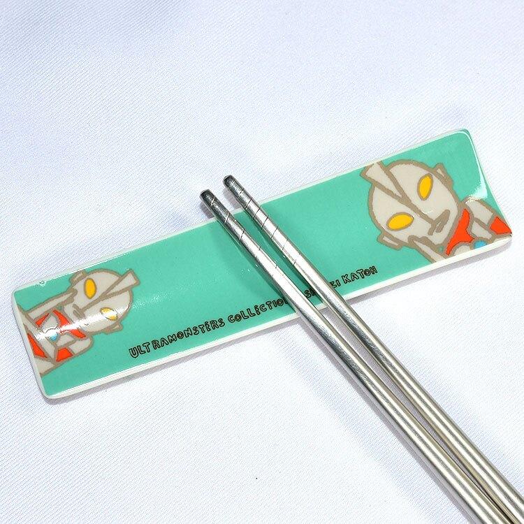 初代超人力霸王 磁器 筷架 日本正版