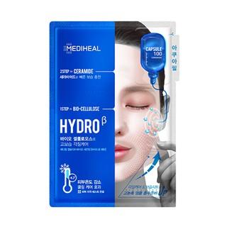 韓國 MEDIHEAL 美迪惠爾 膠囊100生物纖維面膜(補水) HYDROβ