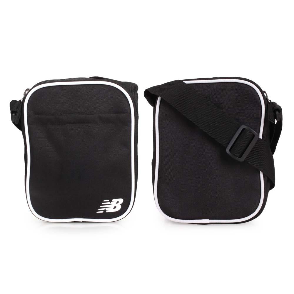 NEWBALANCE 小型側背包-肩背包 斜背包 NB 黑白 F