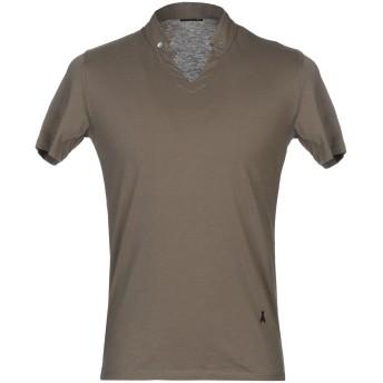《セール開催中》PATRIZIA PEPE メンズ ポロシャツ ミリタリーグリーン M コットン 100%