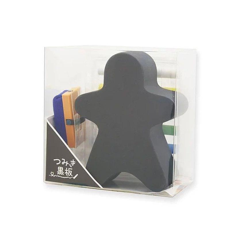 Tsumiki造型小黑版+6色粉筆塗鴨組 / 小人物