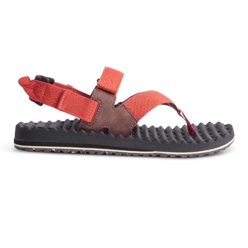 美國Treeline Sport 可拆式休閒涼鞋 / 寬版織帶涼鞋 / 男鞋 / 橘色 US 10