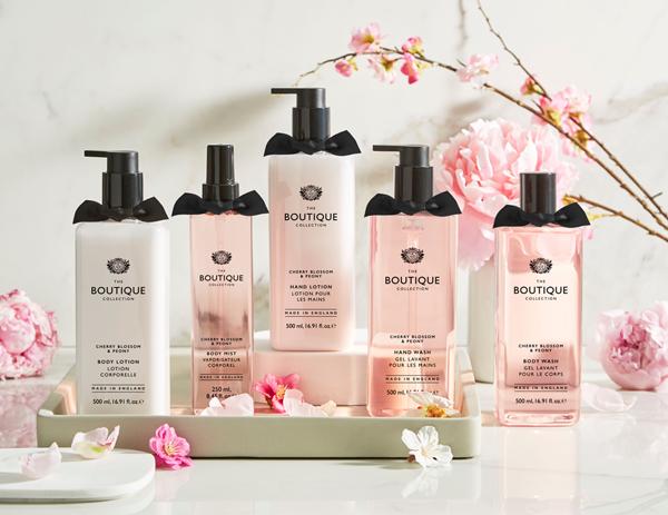 英國BOUTIQUE 香氛洗手露 櫻花與牡丹