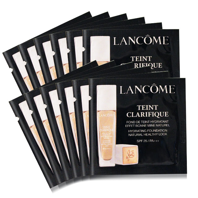 LANCOME 蘭蔻 超極光精華水粉底 SPF25/PA+++(1ml)X12#P-00