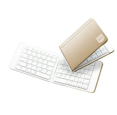 折疊鍵盤 折疊式無線藍芽鍵盤蘋果安卓手機iPad平板通用便攜超薄『XY3372』