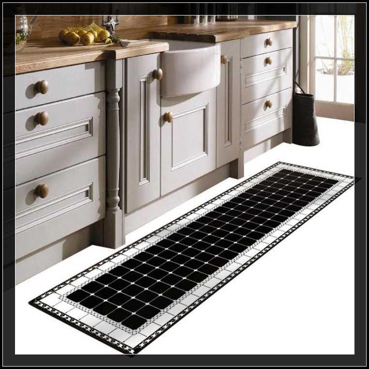 地墊-廚房地墊防滑防油防水家用長條墊子門墊進門門口腳墊地墊地毯